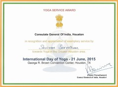 YogaServiceAward21June2015