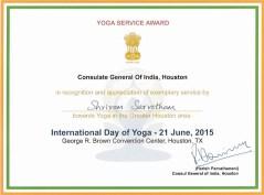 YogaServiceAward21June2015